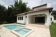 Mediterranean Style House Plan - 4 Beds 4 Baths 2693 Sq/Ft Plan #1058-147 Exterior - Rear Elevation