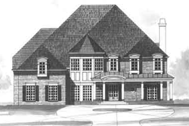 European Exterior - Other Elevation Plan #119-105 - Houseplans.com