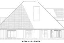 Craftsman Exterior - Rear Elevation Plan #17-1167