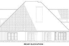 Dream House Plan - Craftsman Exterior - Rear Elevation Plan #17-1167