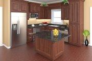 Craftsman Style House Plan - 3 Beds 2 Baths 1627 Sq/Ft Plan #21-364 Interior - Kitchen