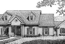 Dream House Plan - Country Exterior - Front Elevation Plan #410-242