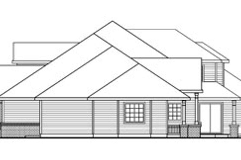 European Exterior - Other Elevation Plan #124-782 - Houseplans.com