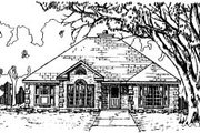 Traditional Style House Plan - 3 Beds 2.5 Baths 1833 Sq/Ft Plan #37-160 Exterior - Front Elevation
