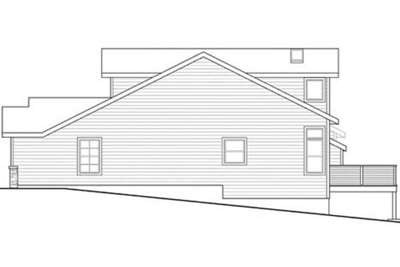 Traditional Exterior - Other Elevation Plan #124-860 - Houseplans.com