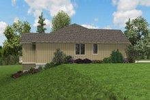 House Plan Design - Craftsman Exterior - Other Elevation Plan #48-972