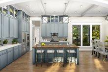 Ranch Interior - Kitchen Plan #406-9655