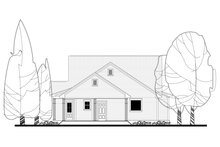 Traditional Exterior - Rear Elevation Plan #430-146