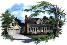 House Design - Country Exterior - Front Elevation Plan #41-141