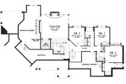 Craftsman Style House Plan - 4 Beds 3.5 Baths 4732 Sq/Ft Plan #48-233 Floor Plan - Lower Floor