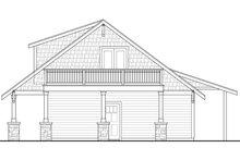 Craftsman Exterior - Other Elevation Plan #124-925