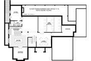 Craftsman Style House Plan - 4 Beds 6.5 Baths 4491 Sq/Ft Plan #928-321 Floor Plan - Lower Floor Plan