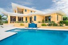 House Plan Design - Beach Exterior - Outdoor Living Plan #938-102