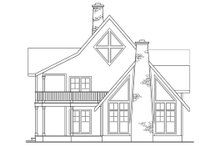 Home Plan - Traditional Exterior - Other Elevation Plan #124-207