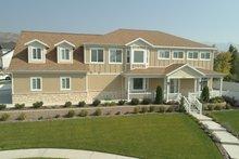 Dream House Plan - Craftsman Exterior - Front Elevation Plan #1060-53
