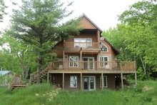 Cabin, Front Elevation
