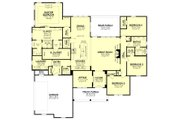Farmhouse Style House Plan - 4 Beds 2 Baths 2847 Sq/Ft Plan #430-226 Floor Plan - Main Floor