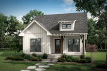 House Plan Design - Farmhouse Exterior - Front Elevation Plan #430-254