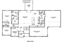 Farmhouse Floor Plan - Main Floor Plan Plan #1073-17