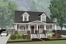House Plan Design - Traditional Exterior - Front Elevation Plan #79-245