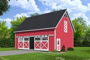 Farmhouse Style House Plan - 0 Beds 0 Baths 1490 Sq/Ft Plan #932-133