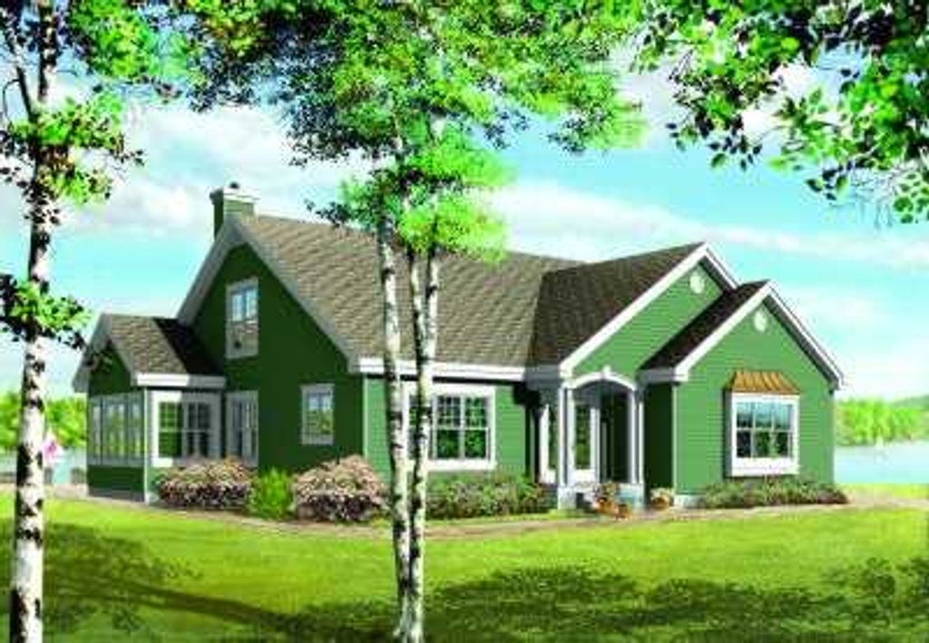 Traditional style house plan 3 beds 2 5 baths 2244 sq ft for 5br house plans