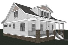 Craftsman Exterior - Other Elevation Plan #461-18
