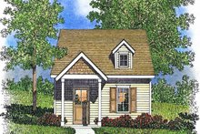 House Plan Design - Cottage Exterior - Front Elevation Plan #22-593