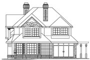 European Style House Plan - 4 Beds 4.5 Baths 3461 Sq/Ft Plan #124-349 Exterior - Other Elevation