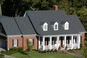 Southern Style House Plan - 3 Beds 3 Baths 2215 Sq/Ft Plan #137-176 Exterior - Other Elevation