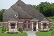 Dream House Plan - Mediterranean Exterior - Front Elevation Plan #84-620
