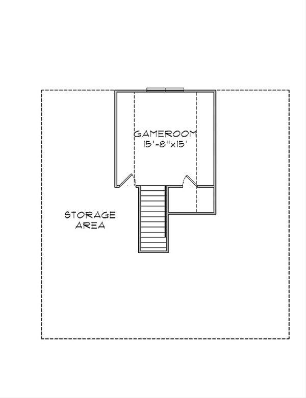 Floor Plan - Upper Floor Plan Plan #575-5