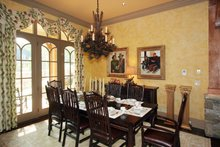 House Plan Design - Craftsman Interior - Dining Room Plan #54-391
