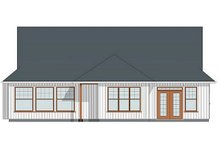House Design - Farmhouse Exterior - Rear Elevation Plan #126-179