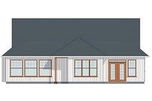 Dream House Plan - Farmhouse Exterior - Rear Elevation Plan #126-179
