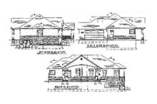 House Plan Design - Traditional Exterior - Rear Elevation Plan #5-119