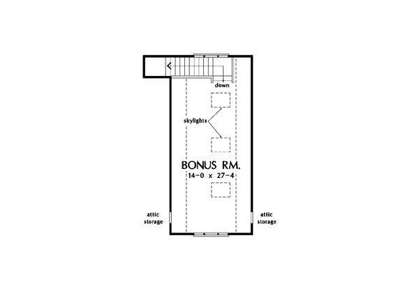Country Floor Plan - Other Floor Plan Plan #929-18
