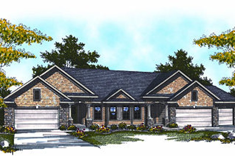 Dream House Plan - Traditional Exterior - Front Elevation Plan #70-894