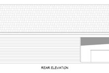 Country Exterior - Rear Elevation Plan #932-312