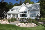 Farmhouse Style House Plan - 4 Beds 5 Baths 3536 Sq/Ft Plan #928-310 Exterior - Rear Elevation