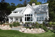 Farmhouse Exterior - Rear Elevation Plan #928-310