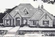Colonial Style House Plan - 4 Beds 3.5 Baths 2889 Sq/Ft Plan #310-881 Exterior - Front Elevation