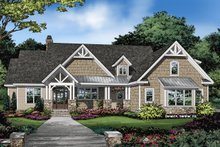 Architectural House Design - Ranch Exterior - Front Elevation Plan #929-1089