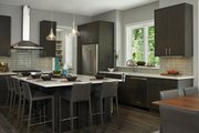 Contemporary Style House Plan - 3 Beds 2.5 Baths 3557 Sq/Ft Plan #928-311 Interior - Kitchen