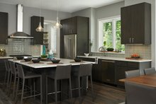 Contemporary Interior - Kitchen Plan #928-311