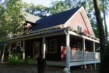 Farmhouse Exterior - Covered Porch Plan #901-11