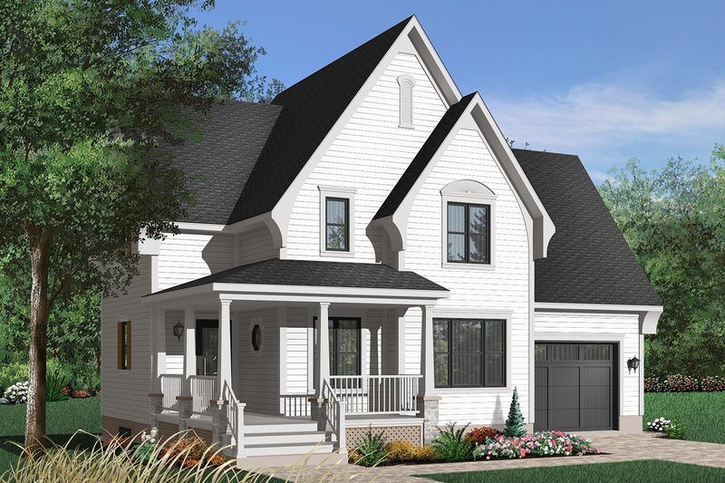 House Plan Design - Southern Exterior - Front Elevation Plan #23-625