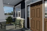 Craftsman Style House Plan - 4 Beds 2.5 Baths 2313 Sq/Ft Plan #1060-66 Exterior - Covered Porch