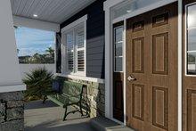 Dream House Plan - Craftsman Exterior - Covered Porch Plan #1060-66