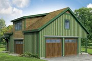 Country Style House Plan - 2 Beds 1 Baths 1916 Sq/Ft Plan #124-944